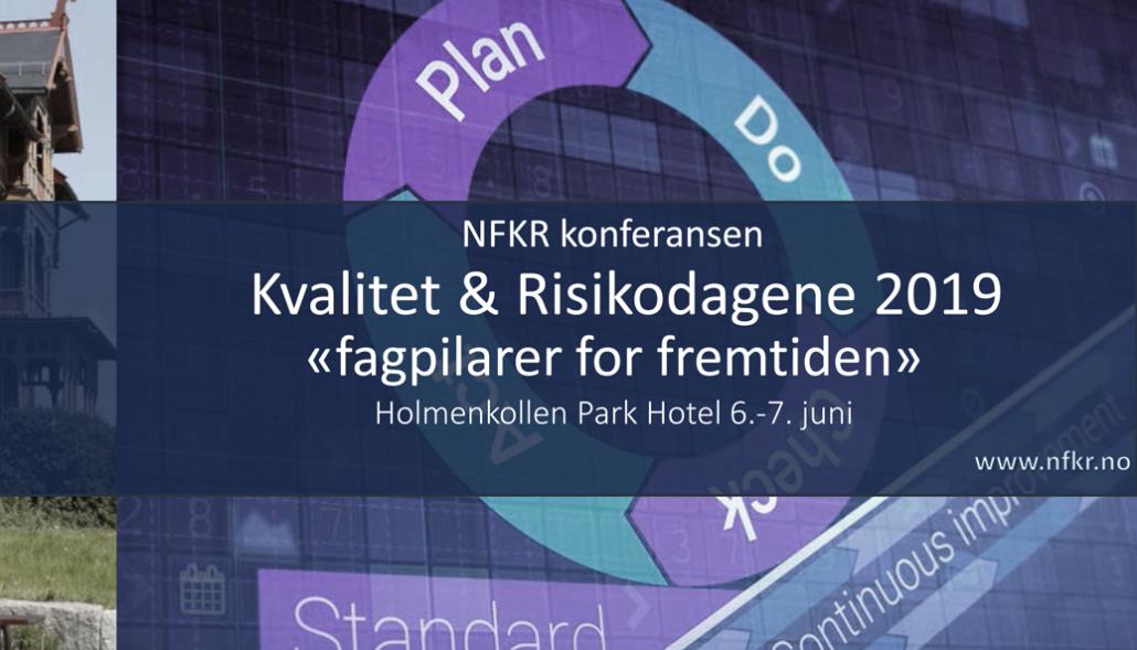 cd342bd18 Kvalitet og Risikodagene 2019, Holmenkollen 6.-7.juni – NFKR
